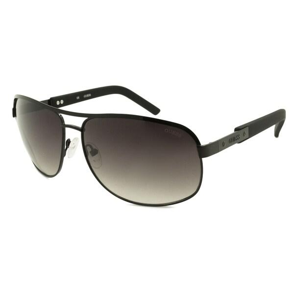 9922ec950a Shop Guess Men s GU6800 Aviator Sunglasses - Free Shipping On Orders ...