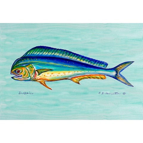 Coastal Dolphinfish Door Mat