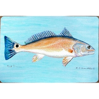 Coastal Red Drum Door Mat