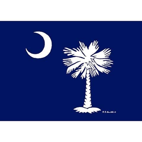 Betsy Drake Coastal Palmetto Moon Doormat