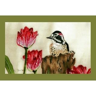Shop Betsy Drake Garden Woodpecker Door Mat Free