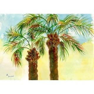 Betsy Drake Coastal Palms Doormat