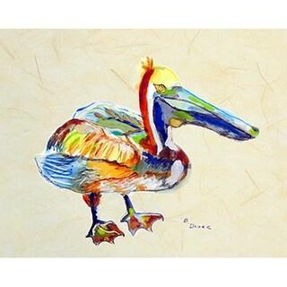 Betsy Drake Coastal Heathcliff Pelican B Doormat