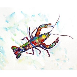 Betsy Drake Coastal Crayfish A Door Mat