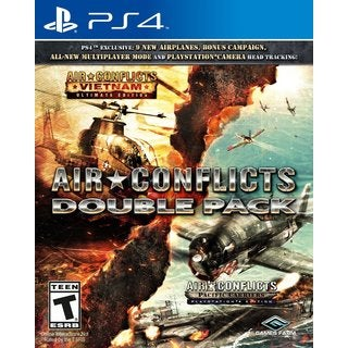 AIR CONFLICTS DOUBLE PACK (VIETNAM + PACIFIC CARRIERS) - PS4