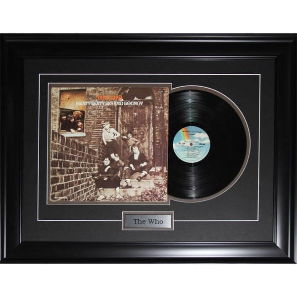 The Who Music Album Record Frame