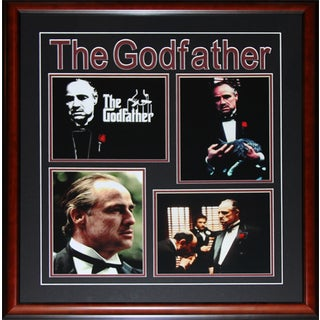The Godfather Marlon Brando 4 Photograph Frame