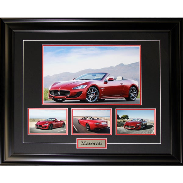 Maserati 4 Photograph Frame