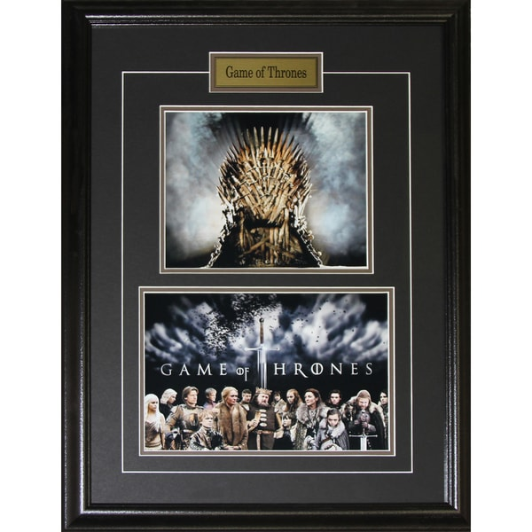 Shop Game of Throne King\'s Chair 2 Photograph Frame - Free Shipping ...