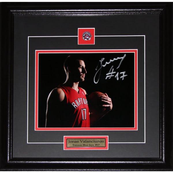 Jonas Valanciunas Toronto Raptors Signed 8x10-inch Frame