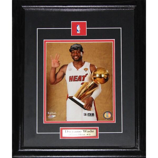 Dwyane Wade Miami Heat Championship 8x10-inch Frame