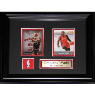 Dwyane Wade Miami Heat 2-card Frame