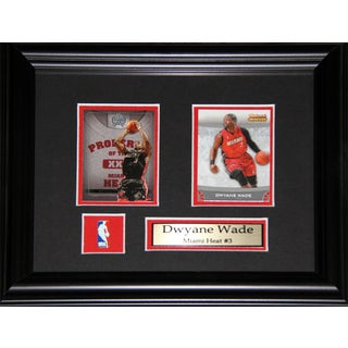 Dwyane Wade Miami Heat 2-card Frame