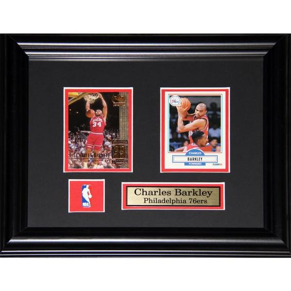 Charles Barkley Philadelphia 76ers 2-card Frame