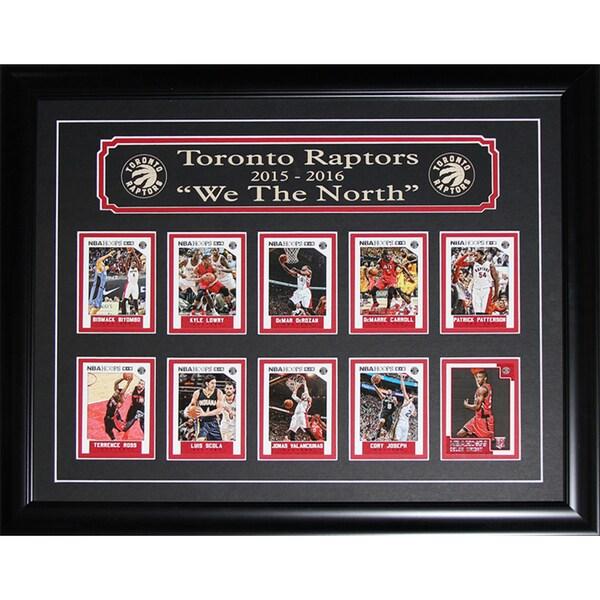 2016 Toronto Raptors 'we The North' Panini Card Set Frame