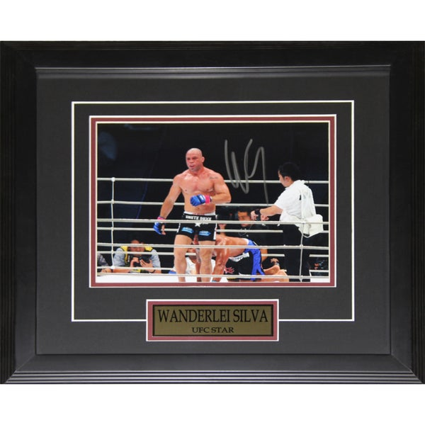 Wanderlei Silva UFC Signed 8x10-inch Frame