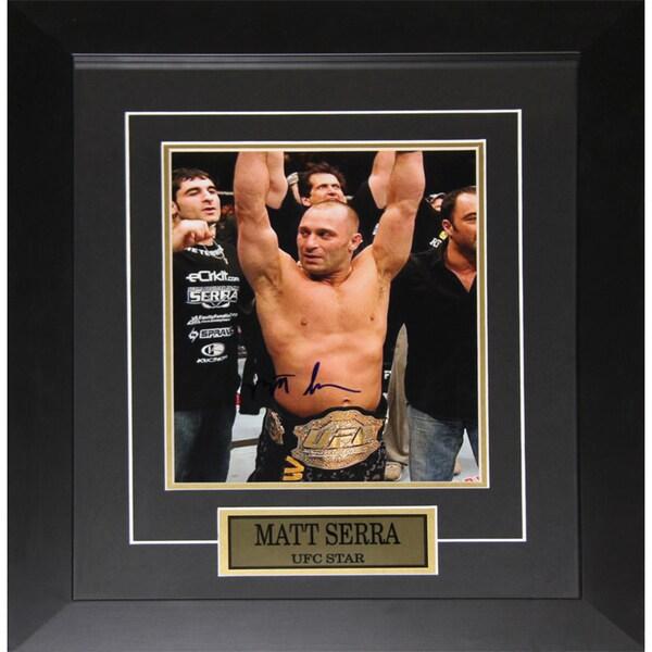 Matt Serra UFC Signed 8x10-inch Frame