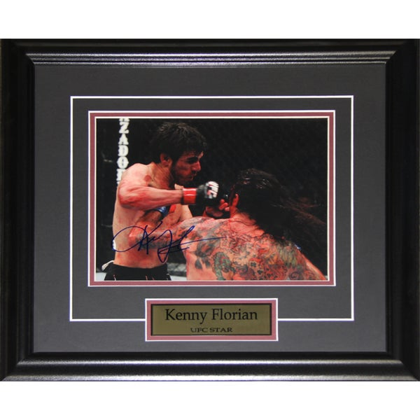 Kenny Florian UFC Signed 8x10-inch Frame