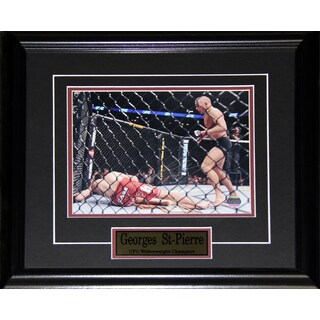 Georges St-Pierre UFC Signed 8x10-inch Frame