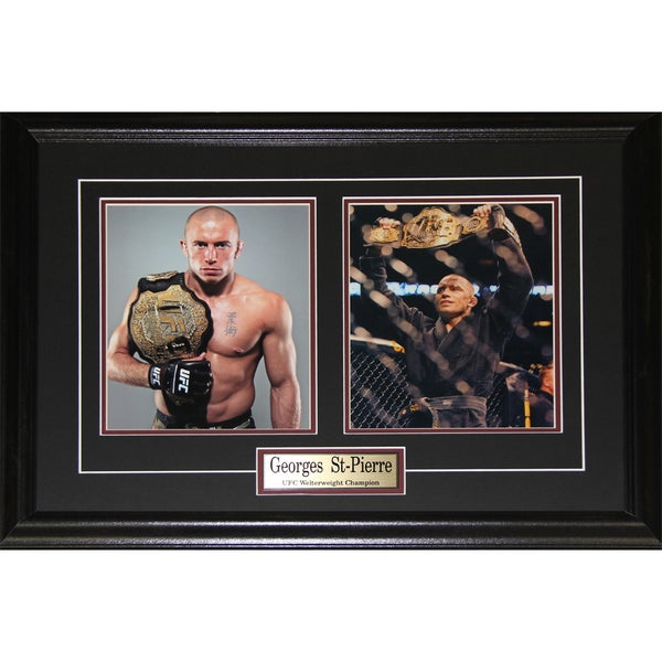 Georges St-Pierre UFC Champion 2-photo Frame