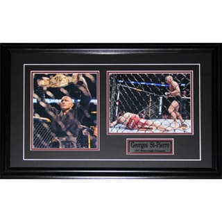 Georges St-Pierre Signed UFC 2-photo Frame