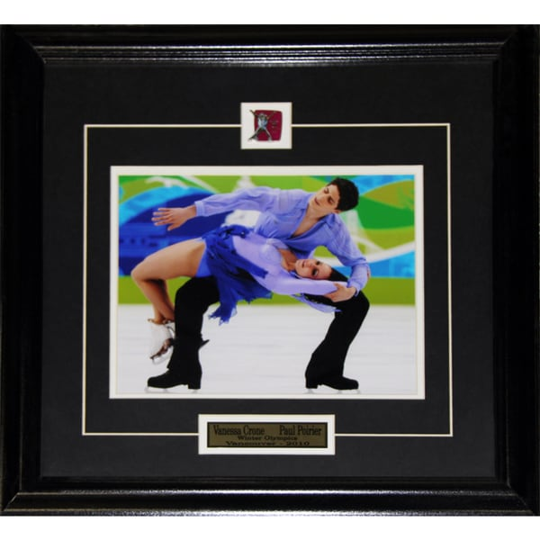 Vanessa Crone and Paul Poirier Winter Olympics 8x10-inch Frame