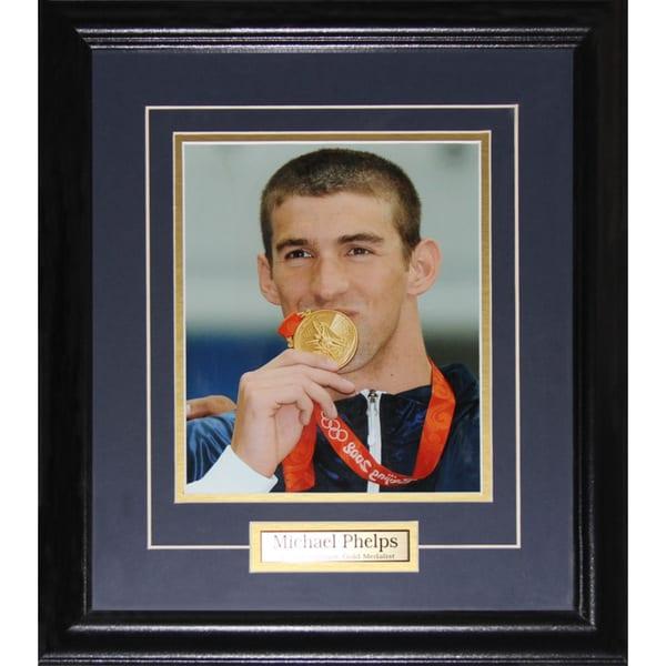 Michael Phelphs Gold Medal 8x10