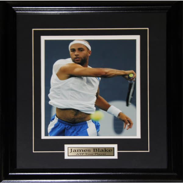 James Blake Tennis 8x10-inch Frame