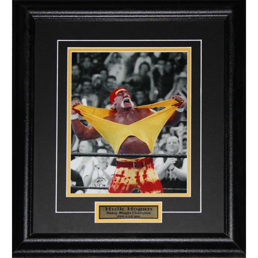 Midway Hulk Hogan Wwe Wrestling 8x10-inch Frame (400423)