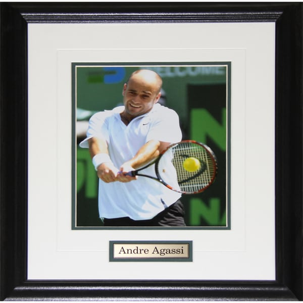 Andre Agassi Tennis 8x10-inch Frame