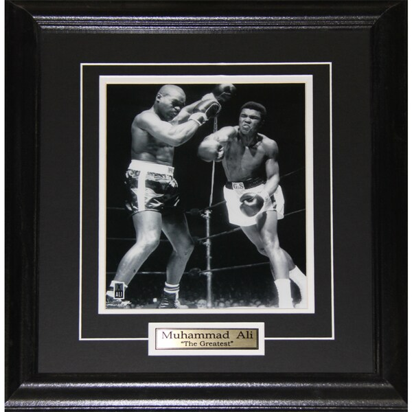 Muhammad Ali Black and White 8x10-inch Frame
