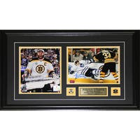 Zdeno Chara Boston Bruins Signed 2-photo Frame