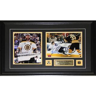 Zdeno Chara Boston Bruins Signed 2-photo Frame