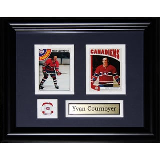 Yvan Cournoyer Montreal Canadiens 2-card Frame