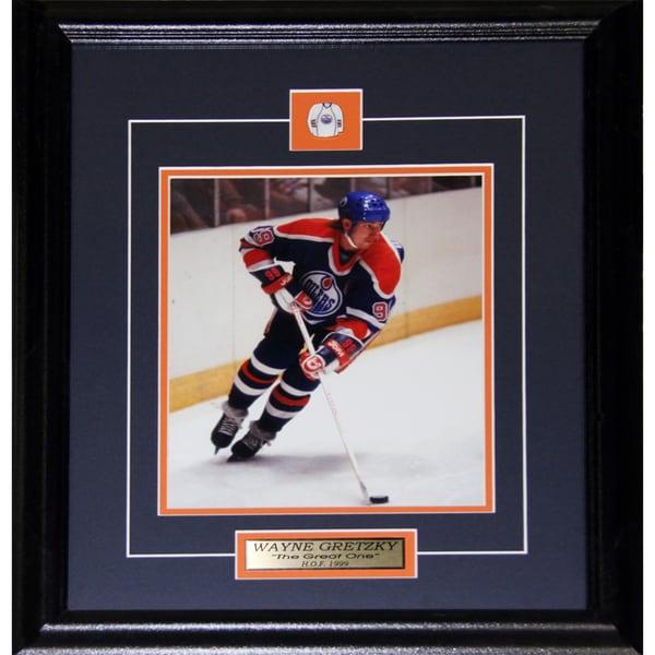Wayne Gretzky Edmonton Oilers 8x10-inch Frame