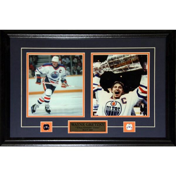 Wayne Gretzky Edmonton Oilers 2-photo Frame