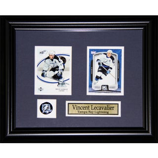 Vincent Lecavalier Tampa Bay Lightning 2-card Frame