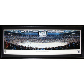 Vancouver Canucks Rogers Arena Panorama Frame