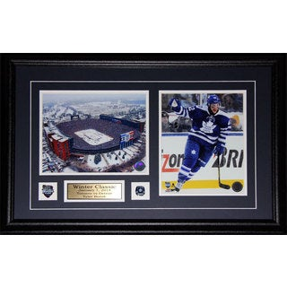 Tyler Bozak Toronto Maple Leafs 2014 Winter Classic 2-photo Frame