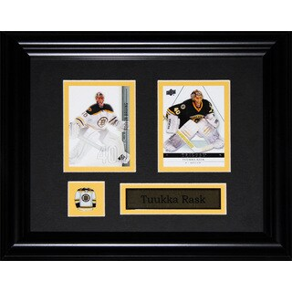 Tuukka Rask Boston Bruins Nhl 2-card Frame