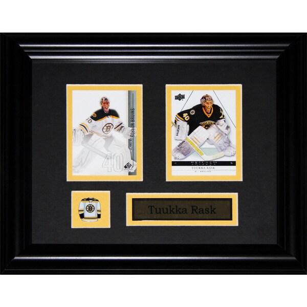 Tuukka Rask Boston Bruins Nhl 2-card Frame
