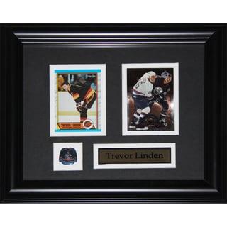 Trevor Linden Vancouver Canucks 2-card Frame