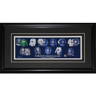 Toronto Maple Leafs Jersey Evolution Frame