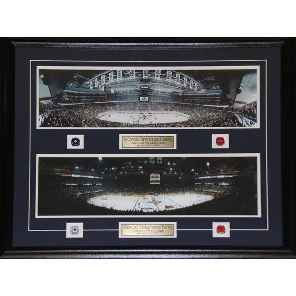 Toronto Maple Leafs Gardens Air Canada Center Last First Game Frame