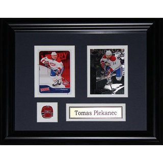 Tomas Plekanec Montreal Canadiens 2-card Frame