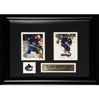 Todd Bertuzzi Vancouver Canucks 2-card Frame