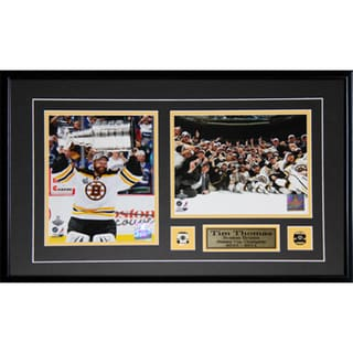 Tim Thomas Boston Bruins Stanley Cup 2-photo Frame