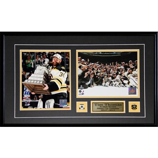 Tim Thomas Boston Bruins Mvp 2-photo Frame