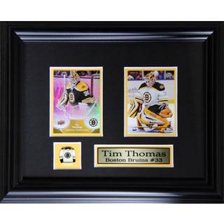 Tim Thomas Boston Bruins 2-card Frame