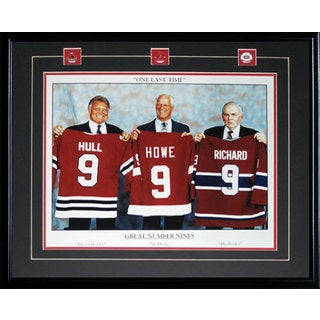 Three Great 9's 16x20-inch Frame Howe Richard Hull